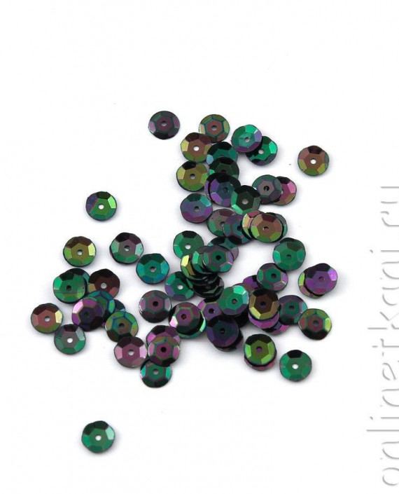 Пайетки 5009 цвет зеленый картинка 1
