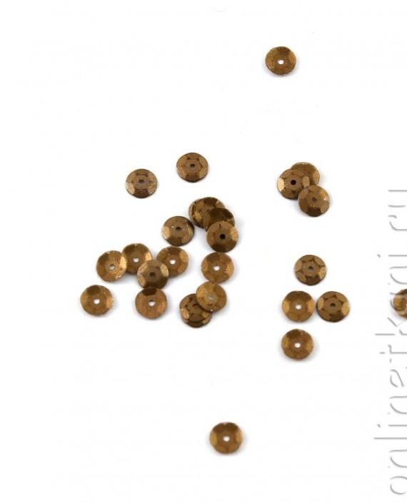 Пайетки 5014 цвет коричневый картинка 1