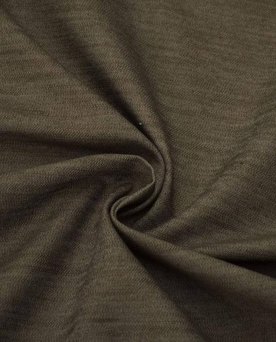 Ткань Джинс 642 цвет коричневый картинка