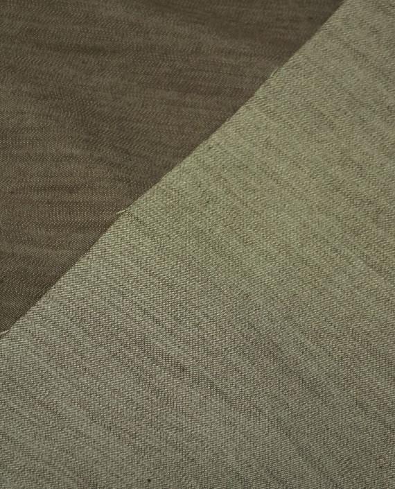 Ткань Джинс 642 цвет коричневый картинка 2