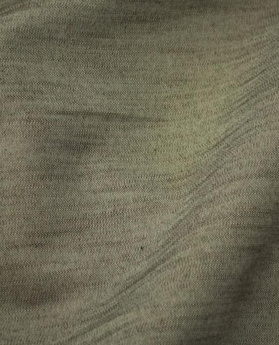 Ткань Джинс 642 цвет коричневый картинка 1