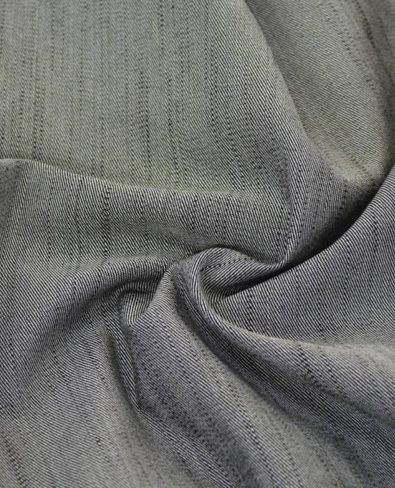 Ткань Джинс 809 цвет серый картинка 2