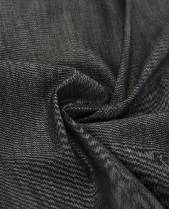 Ткань Джинс 812 цвет серый картинка