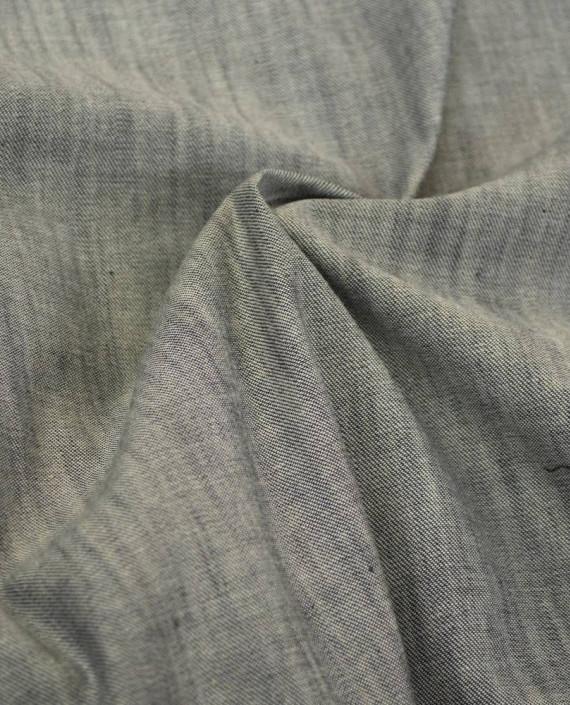 Ткань Джинс 812 цвет серый картинка 1