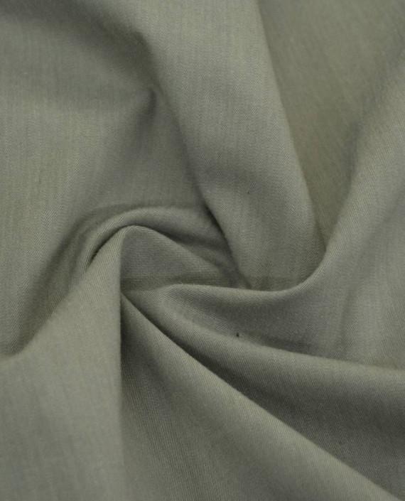 Ткань Хлопок Джинсовый 827 цвет бежевый картинка