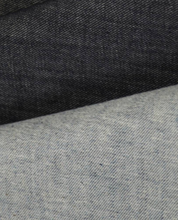 Ткань Джинс 835 цвет серый картинка 2