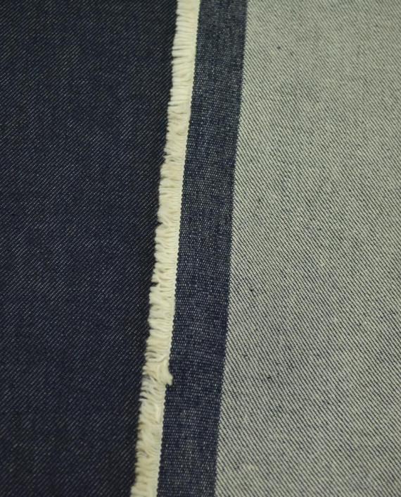 Ткань Джинс 858 цвет синий картинка 2