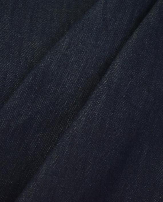 Ткань Джинс 860 цвет синий картинка 1