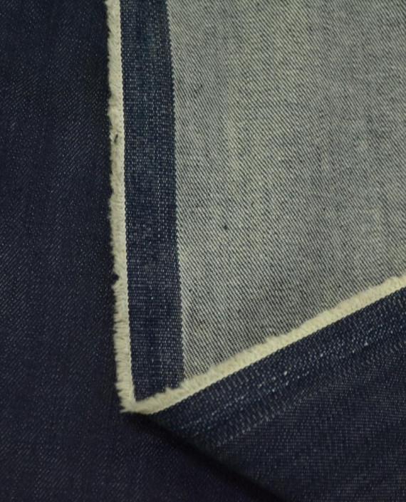 Ткань Джинс 860 цвет синий картинка 2