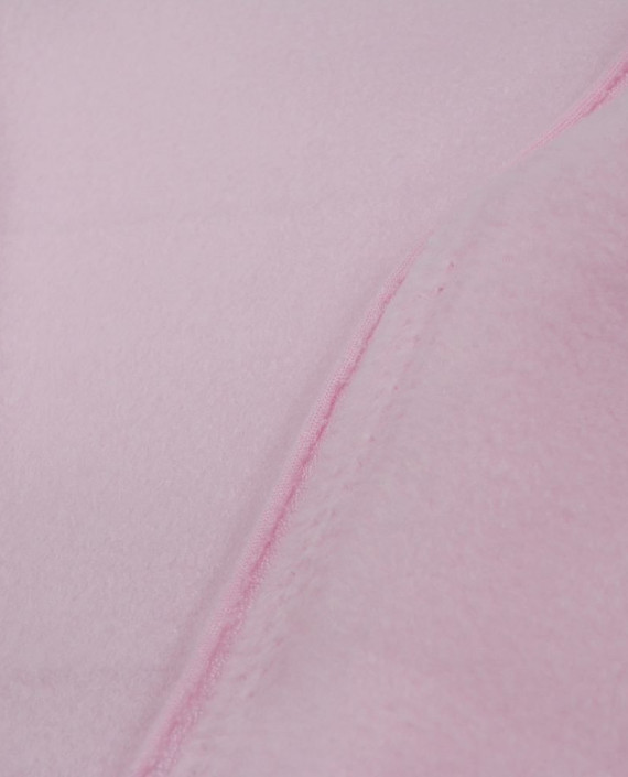Флис двустороний 0004 цвет розовый картинка 2
