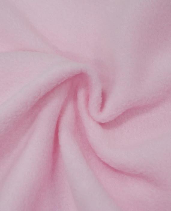 Флис двустороний 0004 цвет розовый картинка 1
