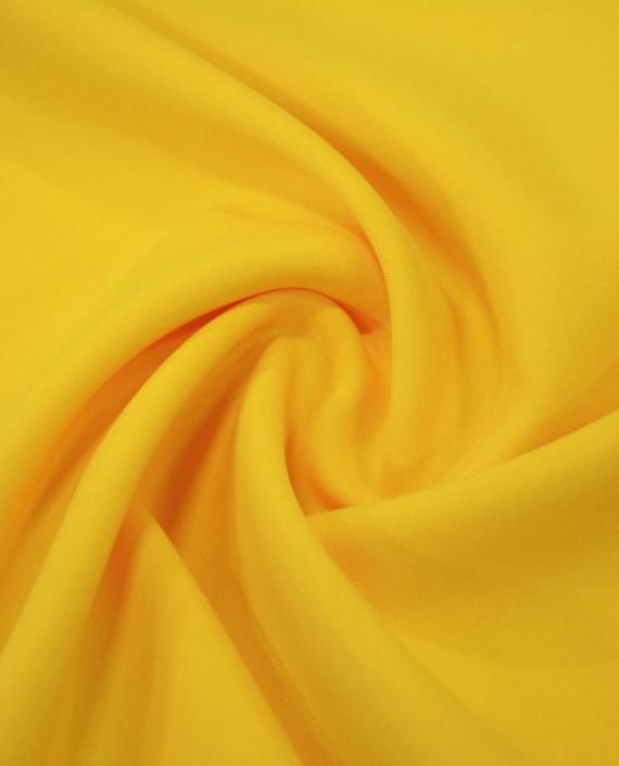 """Ткань Габардин """"Солнечный"""" 0029 цвет желтый картинка"""