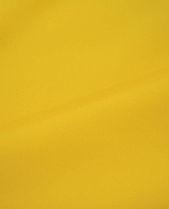 """Ткань Габардин """"Солнечный"""" 0029 цвет желтый картинка 2"""