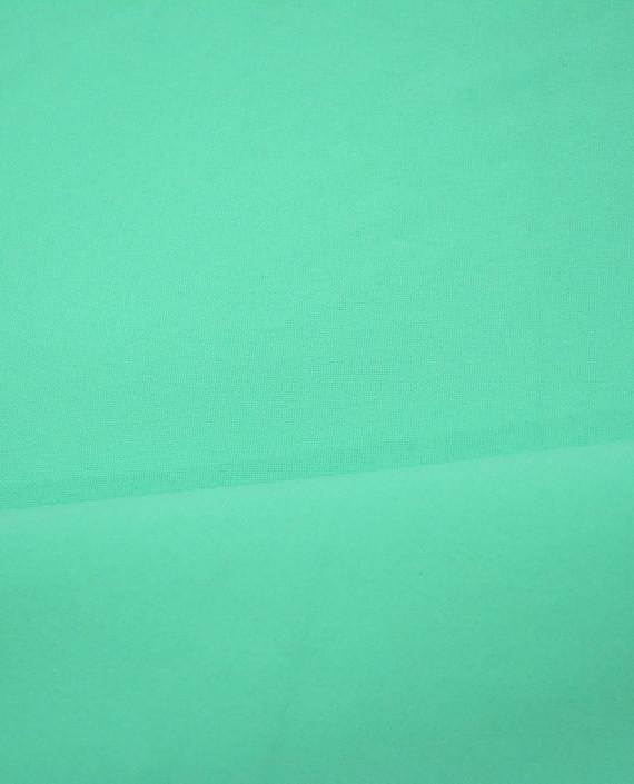 """Ткань Габардин """"Бирюзовый"""" 0018 цвет зеленый картинка 2"""