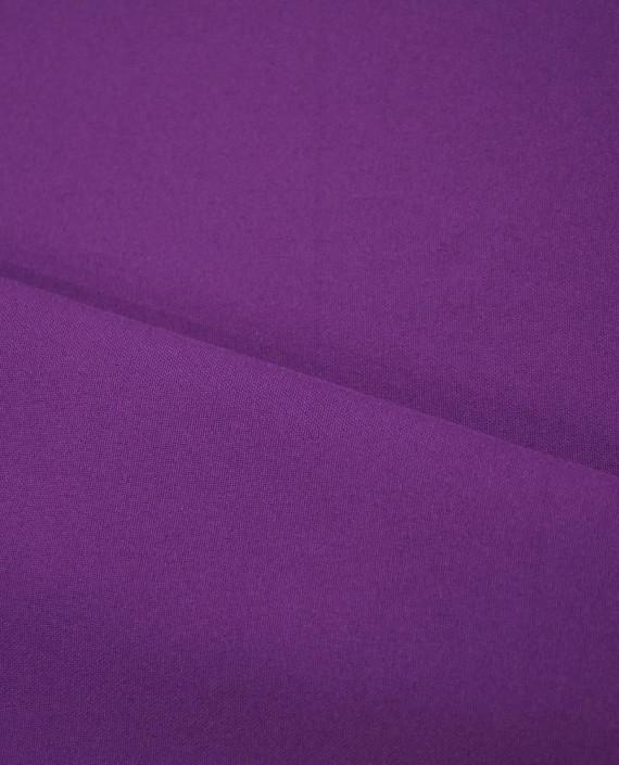 """Ткань Габардин """"Индиго"""" 0002 цвет фиолетовый картинка 2"""