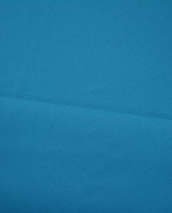Ткань Габардин 0013 цвет синий картинка 2
