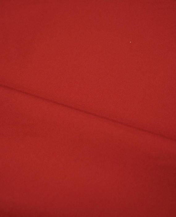 Ткань Габардин 0035 цвет красный картинка 2