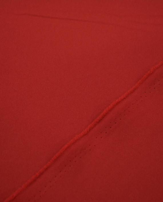 Ткань Габардин 0035 цвет красный картинка 1