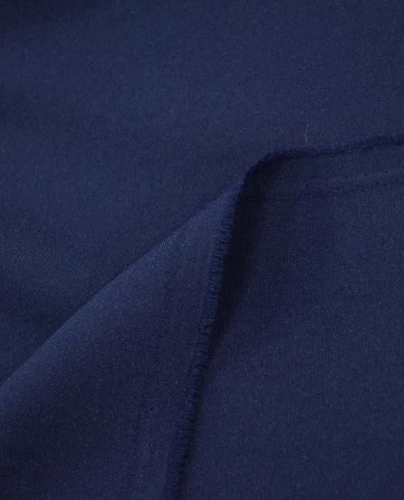 Ткань Габардин  0005 цвет синий картинка 1