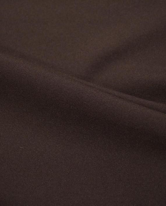 "Ткань Габардин ""Коричневый"" 0019 цвет коричневый картинка 2"