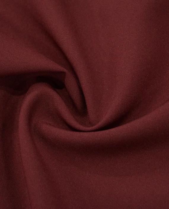"Ткань Габардин ""Бурый"" 0003 цвет бордовый картинка"