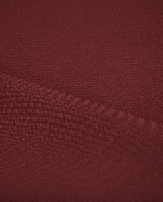 "Ткань Габардин ""Бурый"" 0003 цвет бордовый картинка 2"