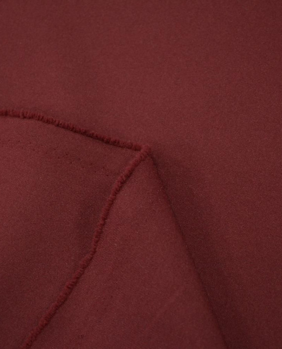 "Ткань Габардин ""Бурый"" 0003 цвет бордовый картинка 1"