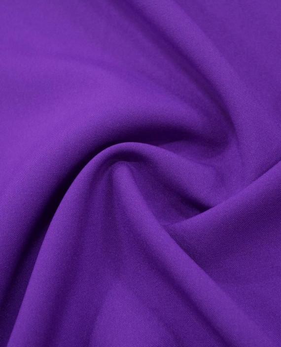 Ткань Габардин 0026 цвет фиолетовый картинка