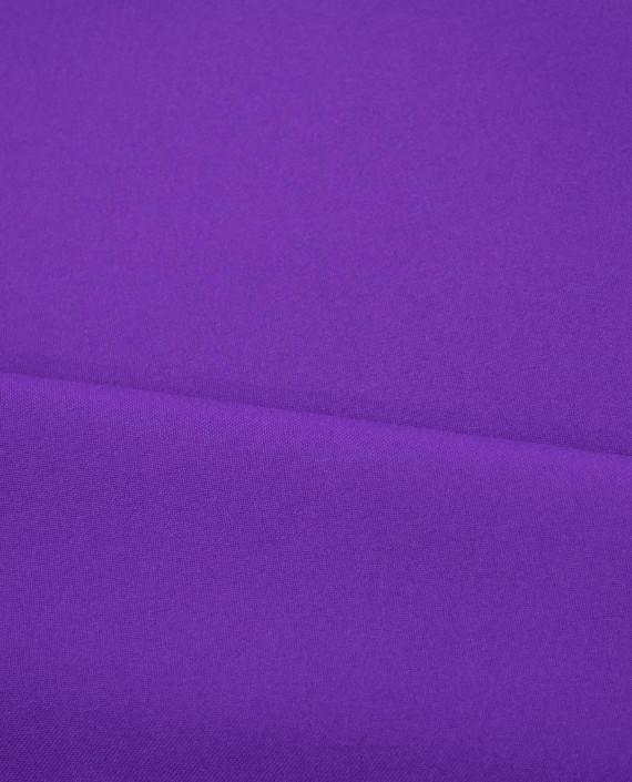 Ткань Габардин 0026 цвет фиолетовый картинка 2