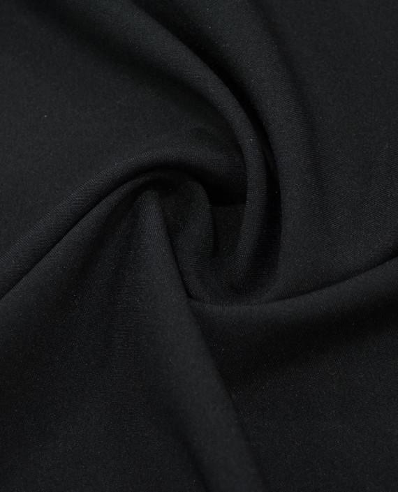 "Ткань Габардин ""Черный"" картинка"