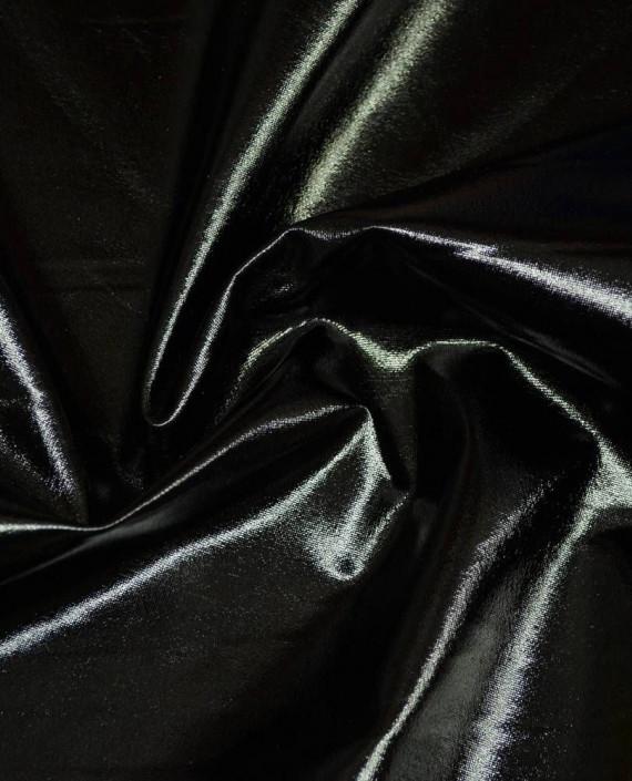 Ткань Голограмма 055 цвет черный картинка