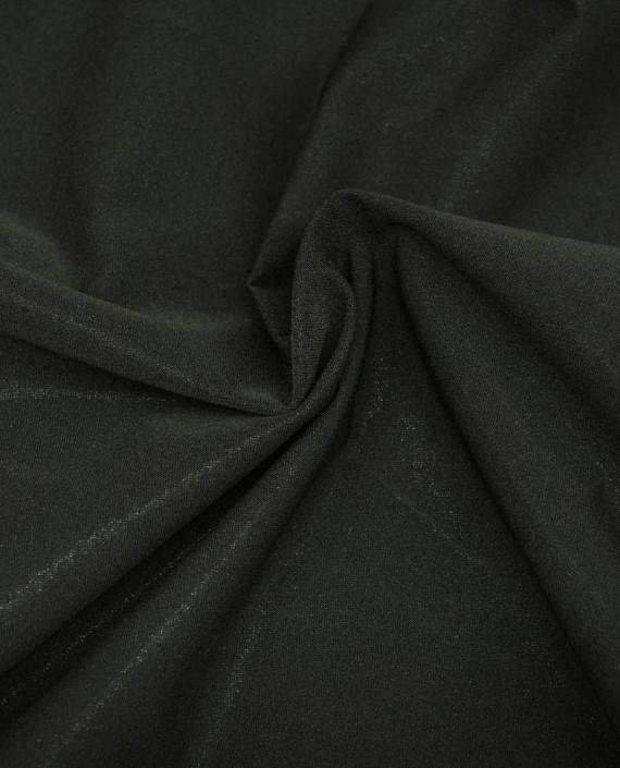 Ткань Голограмма 055 цвет черный картинка 2