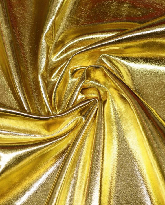 Ткань Голограмма 062 цвет золотой картинка