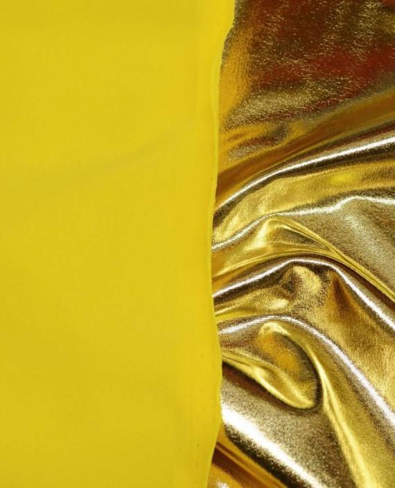 Ткань Голограмма 062 цвет золотой картинка 1