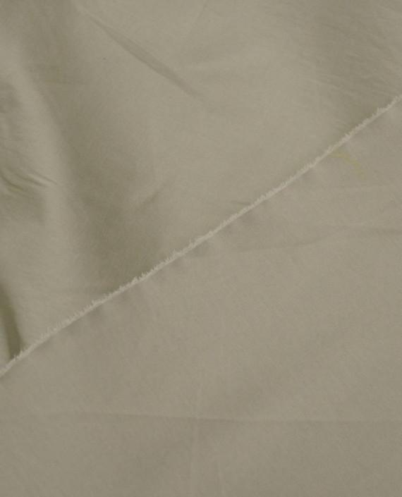 Ткань Хлопок Рубашечный 1414 цвет бежевый картинка 2