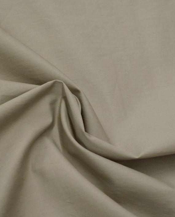 Ткань Хлопок Рубашечный 1414 цвет бежевый картинка 1
