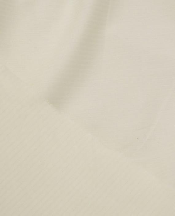 Ткань Хлопок Рубашечный 1439 цвет айвори картинка 2