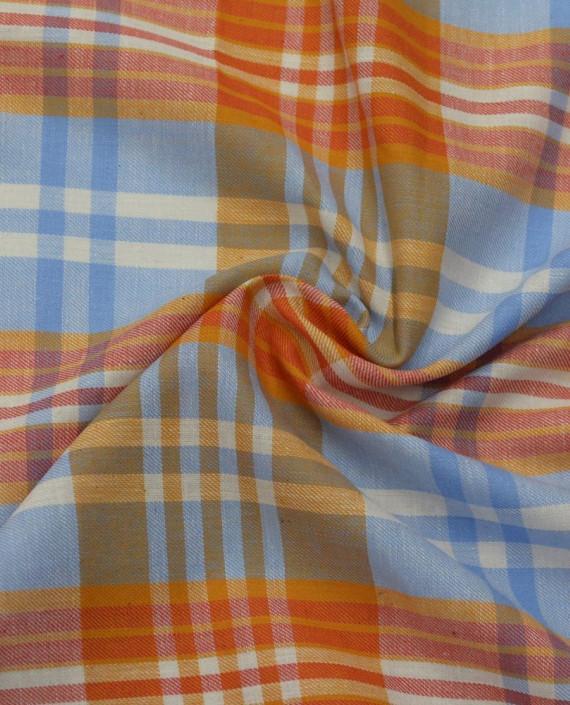 Ткань Хлопок Рубашечный 1552 цвет разноцветный в клетку картинка