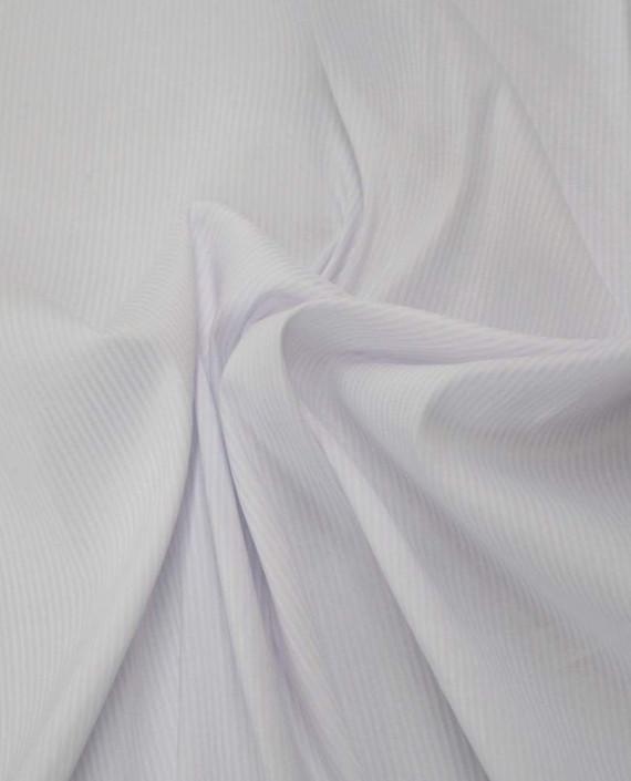 Ткань Хлопок Рубашечный 1654 цвет белый картинка
