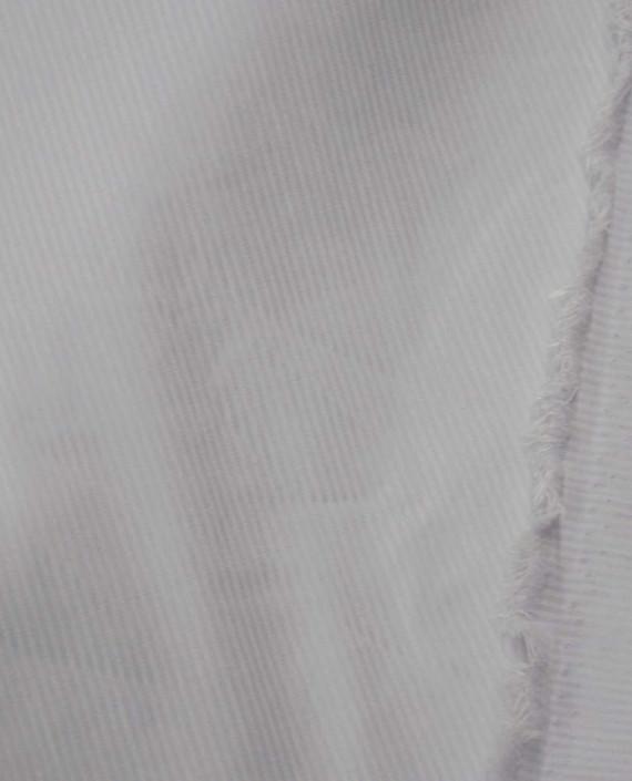 Ткань Хлопок Рубашечный 1654 цвет белый картинка 1