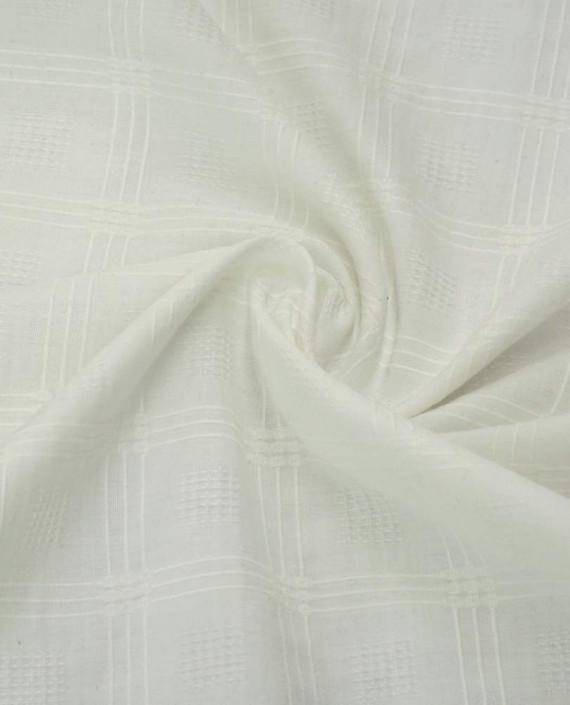 Ткань Хлопок Рубашечный 1657 цвет белый картинка