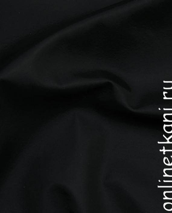 Искусственная кожа 014 цвет черный картинка 1