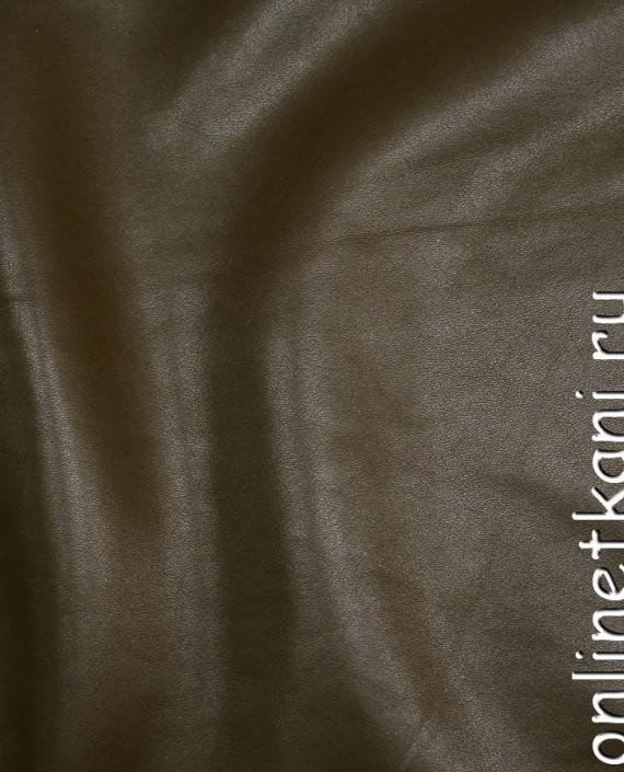 Искусственная кожа 017 цвет хаки картинка 2