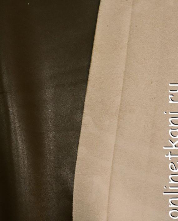 Искусственная кожа 017 цвет хаки картинка 1