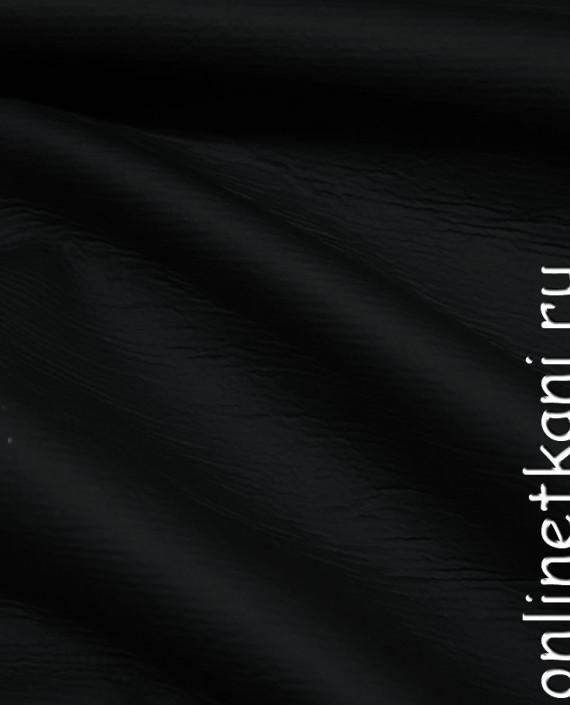 Искусственная кожа 024 цвет черный картинка 2
