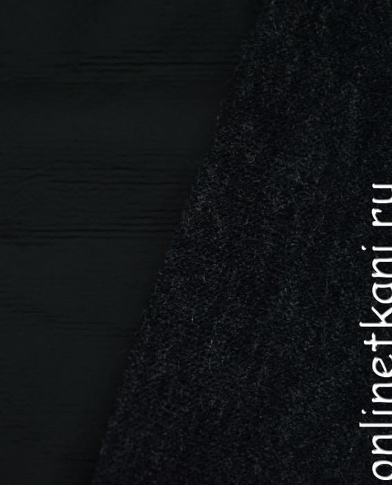 Искусственная кожа 024 цвет черный картинка 1
