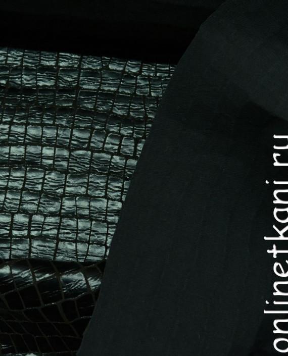 Искусственная кожа 035 цвет зеленый картинка 2