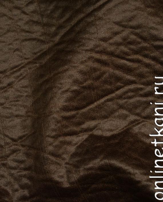 Искусственная кожа 042 цвет коричневый картинка