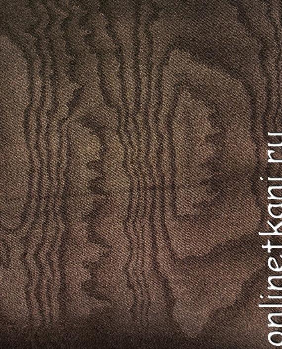 Искусственная кожа 043 цвет коричневый абстрактный картинка