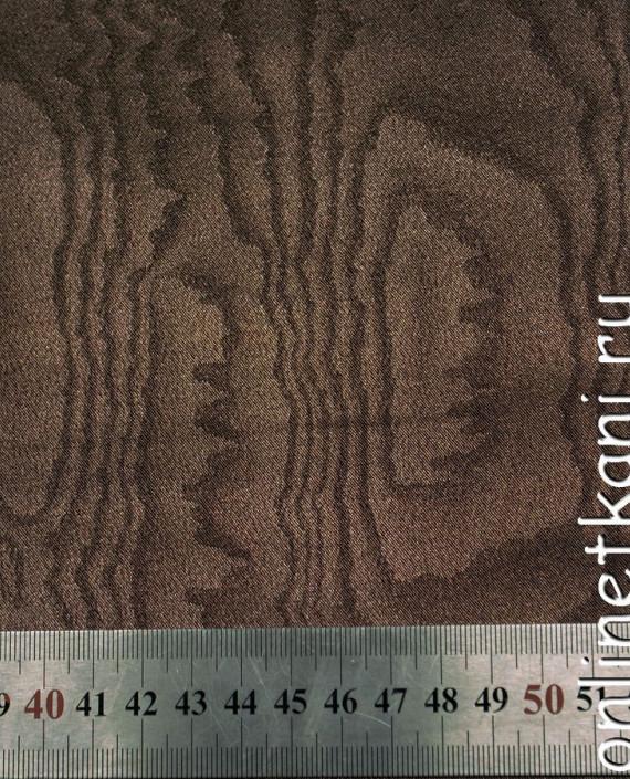Искусственная кожа 043 цвет коричневый абстрактный картинка 1